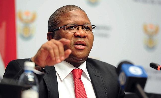 Fikile Mbalula, criticize FIFA